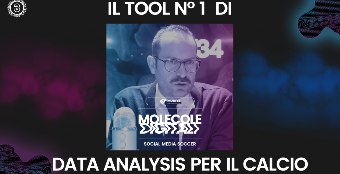 Il tool N° 1 di Data Analysis per il Calcio – Social Media Soccer | Molecole Digitali Ep.3 Podcast