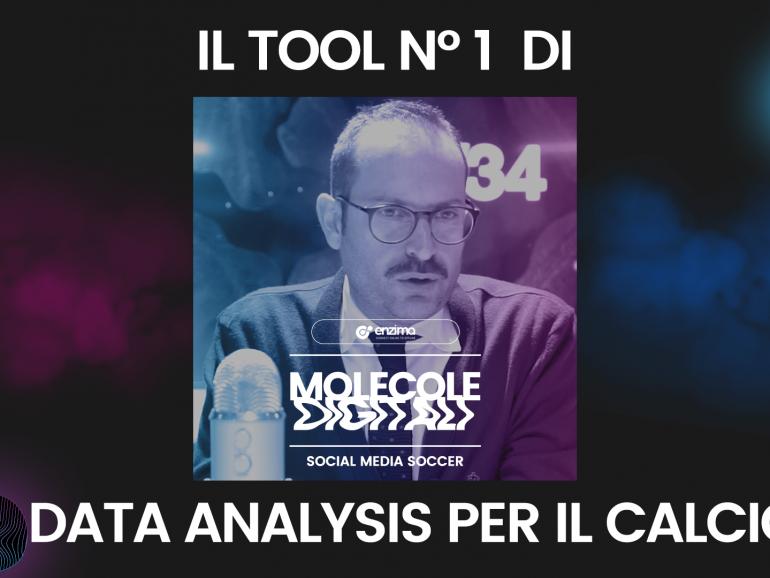 Il tool N° 1 di Data Analysis per il Calcio – Social Media Soccer | Molecole Digitali Ep.3 Podcast