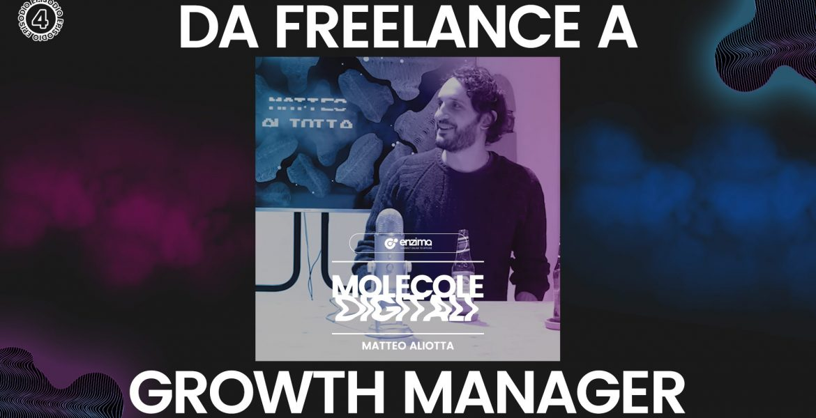 Da Freelance a Growth Manager – Matteo Aliotta | Molecole Digitali Ep.4 Podcast