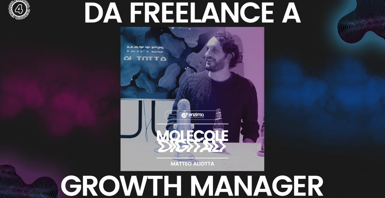 Da Freelance a Growth Manager – Matteo Aliotta | Molecole Digitali Ep.4 Podcast