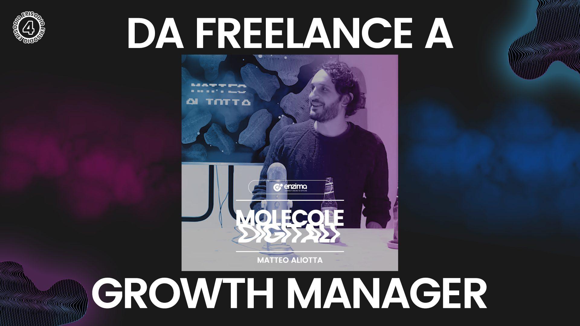 Matteo Aliotta – Da Freelance a Growth Manager | Molecole Digitali Ep.4 Podcast