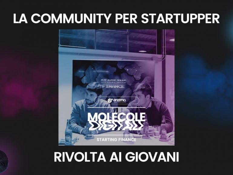 Starting Finance – La community per startupper rivolta ai giovani| Molecole Digitali Ep. 5