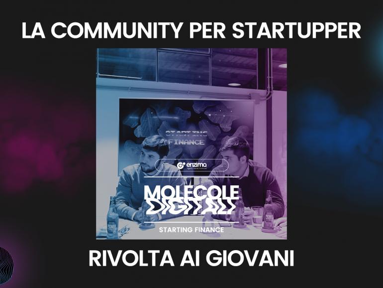 La community per startupper rivolta ai giovani – Starting Finance   Molecole Digitali Ep. 5