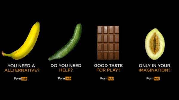 pornhub pubblicità