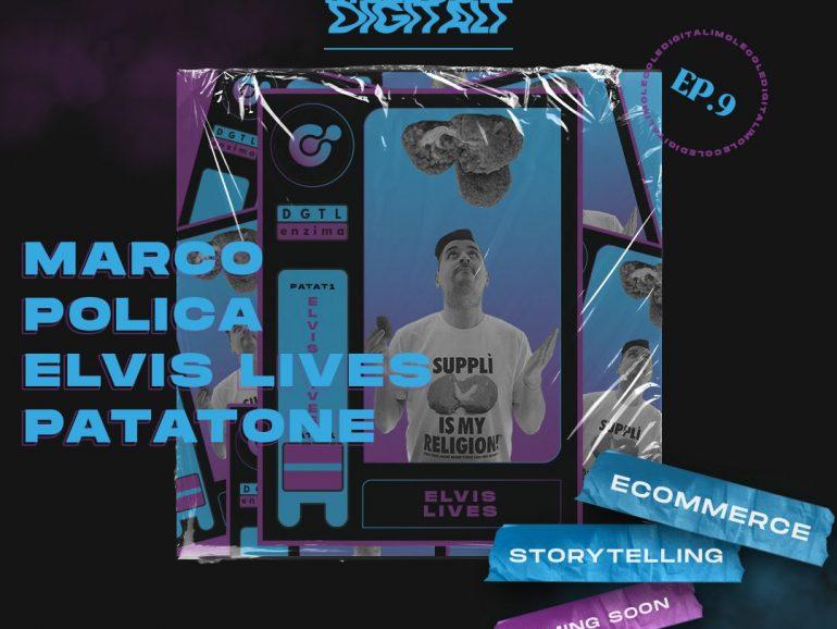 Elvis Lives – Supplì e maratone: lo Storytelling che funziona | Molecole Digitali Ep.9