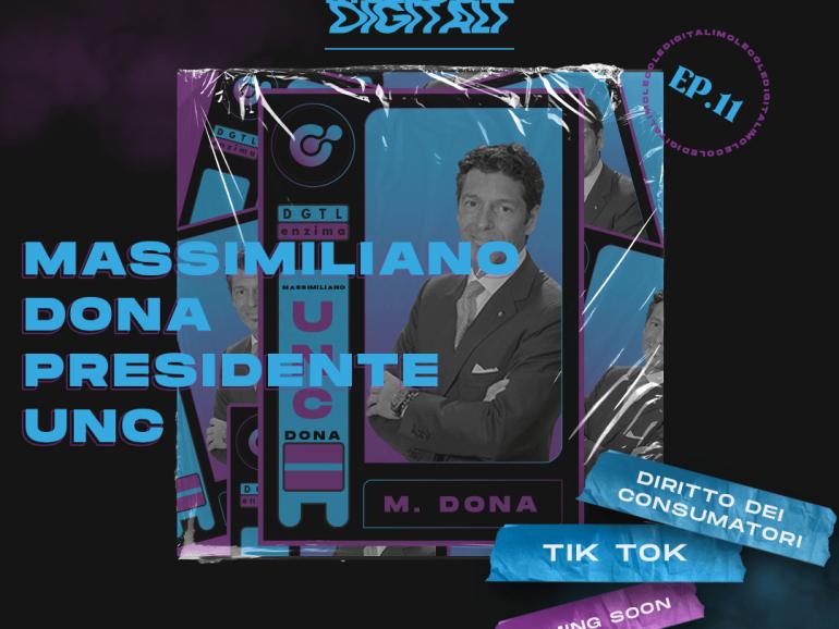 Massimiliano Dona – L'Avvocato TikToker | Molecole Digitali Ep. 11