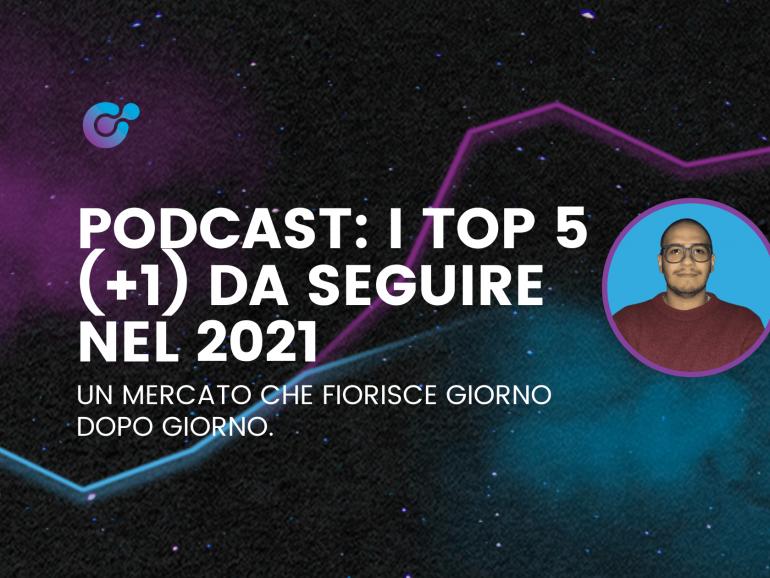 Podcast: i top 5 (+1) da seguire nel 2021