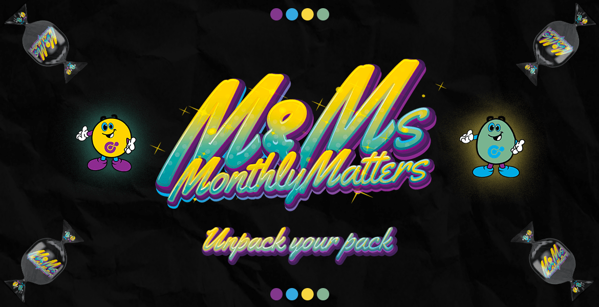 M&Ms – Monthly Matters | Pack 3