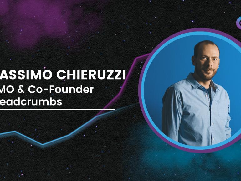 Massimo Chieruzzi   CMO & Co-Founder Breadcrumbs